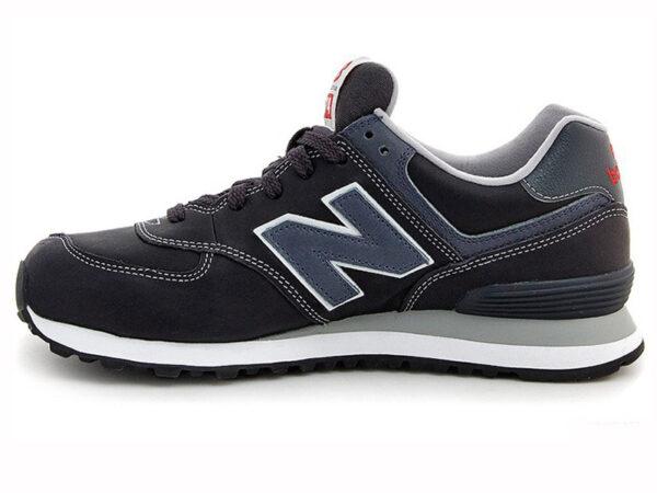 New Balance 574 черные с темно-синим (40-45)