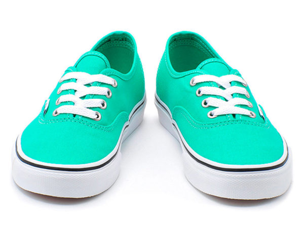 Зеленые кеды Vans