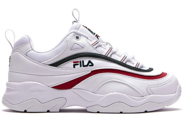 Разноцветные кроссовки Fila