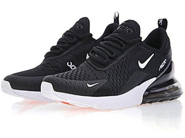 Nike Air Max 270 черные с белым (35-45)