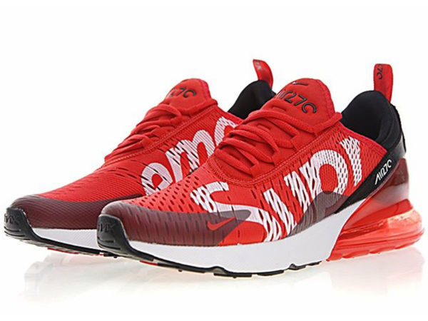 Nike Air Max 270 Supreme X красно-белые (40-45)