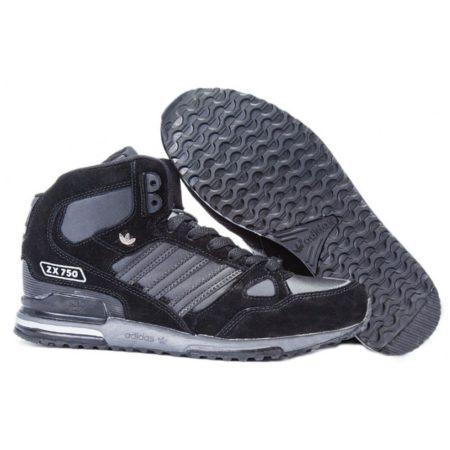 Высокие зимние кроссовки Adidas