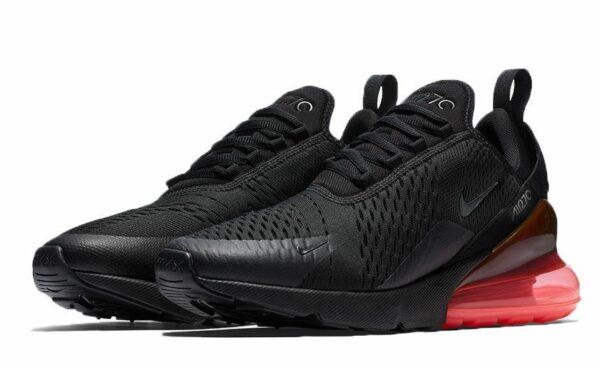 Nike Air Max 270 черные с красным (36-44)
