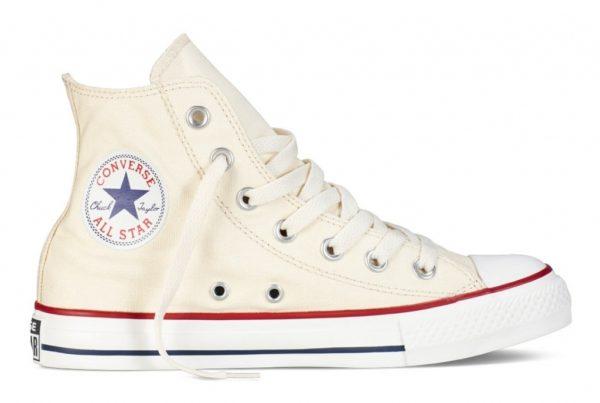 Converse All Star высокие бежевые (35-45). Конверс Ол Стар