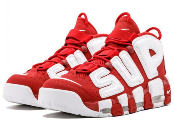 Nike Air More Uptempo Supreme x красные 35-45