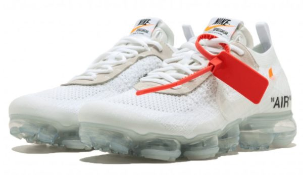 Nike Air VaporMax OFF-WHITE x white белые (40-44)