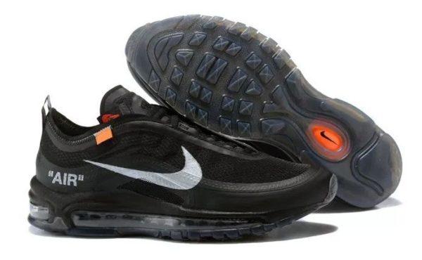 Nike x Off-White Air Max 97 черные-Black (40-44)