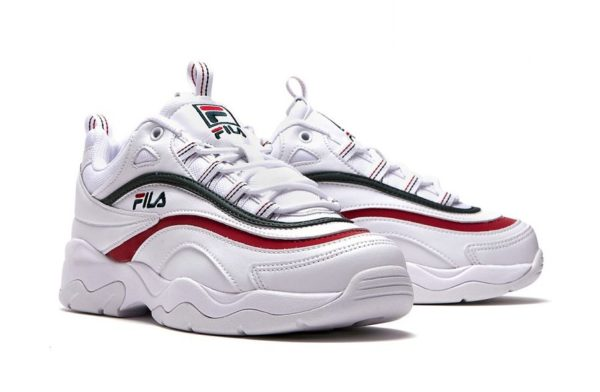 Fila Ray white белые (35-40)