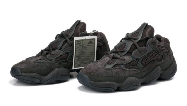 Adidas Yeezy Boost 500 black черные (35-44)