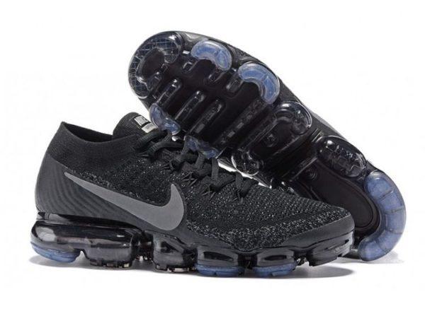 Nike Air VaporMax Flyknit черно-серые 40-44