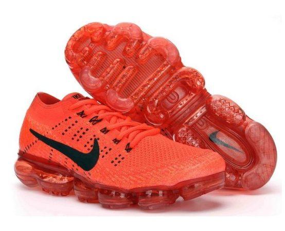 Nike Air VaporMax Flyknit красные 40-44