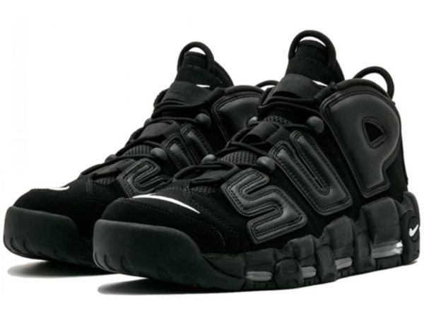 Nike Supreme x Air More Uptempo (Black) (35-44)