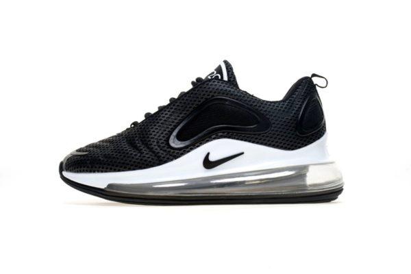 Nike Air Max 720 Black/White черно-белые (40-44)