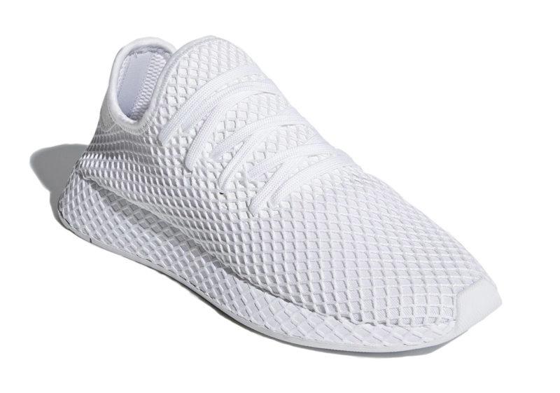 Adidas Deerupt Runner белые (35-44)