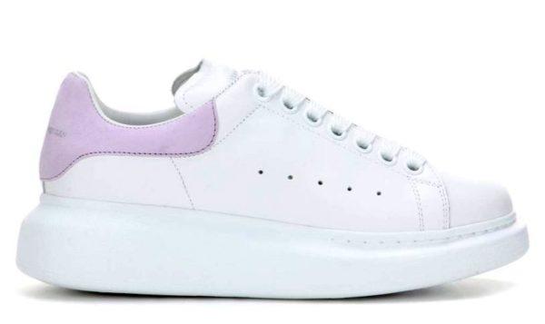 Фиолетовые кроссовки Alexander McQueen