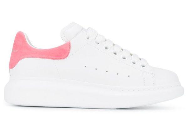 Розовые кроссовки Alexander McQueen