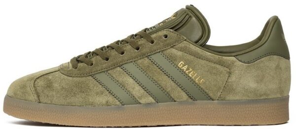 Adidas Gazelle темно-зеленые (40-44)