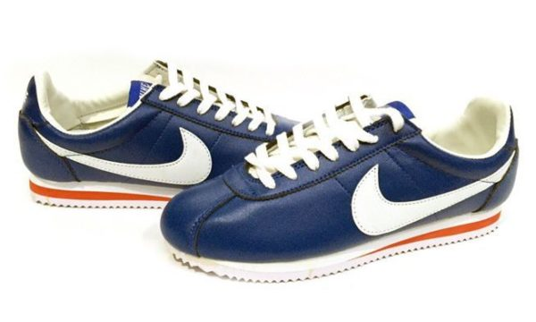 Nike Cortez темно-синие с белым (39-43)