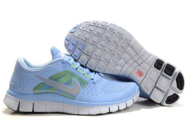 Nike Free Run 5.0 V3 голубые (35-39)