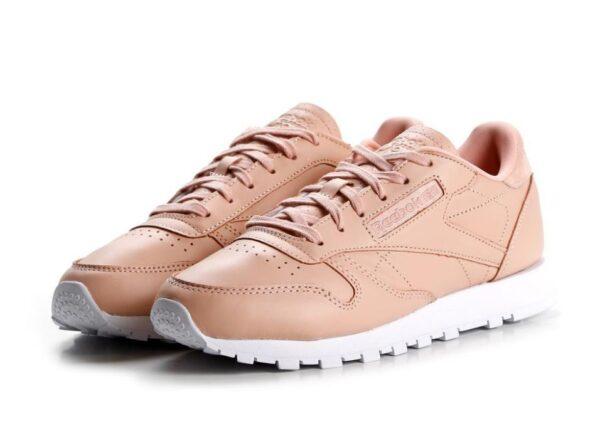 Reebok Classic Leather светло-розовые (35-39)