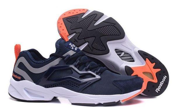 Оранжевые кроссовки Reebok
