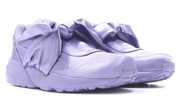 Сиреневые кроссовки Puma