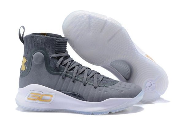 Under Armour Curry 4 серые (40-45)
