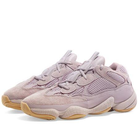 Adidas Yeezy Boost 500 фиолетовые замшевые женские (35-39)