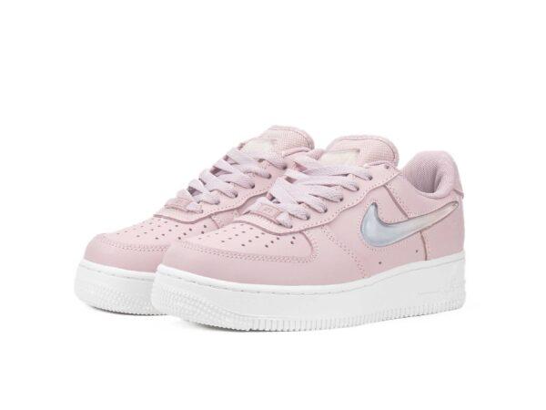 Nike Air Force 1 07 LV8 фиолетовые кожаные женские (35-39)